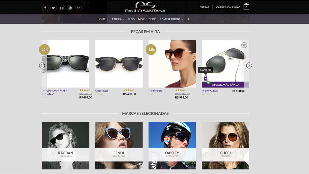 Loja Virtual – Ótica Paulo Santana d2bc62cb68